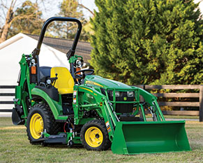 Build your own compact utility tractor