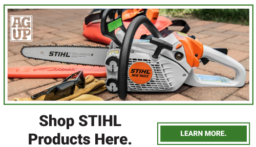 View all STIHL products offered at AgUp