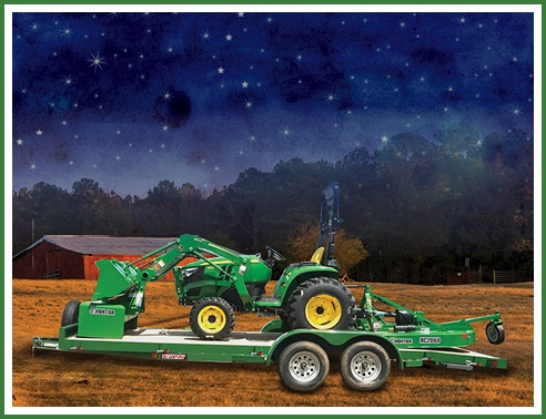 save on new 3D tractors