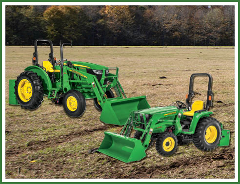 SAVE 15%on 2 Attachments for the Tractors